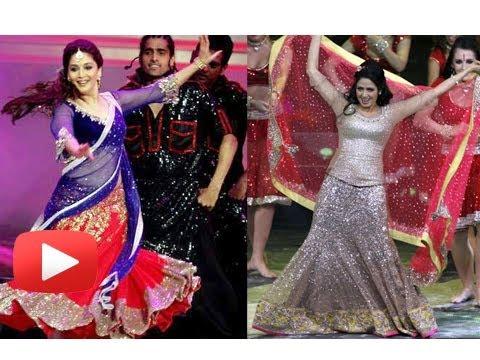 Madhuri Dixit Vs Sridevi At IIFA 2013 Performance #IIFA2013