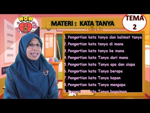 Video Pembelajaran Tematik Kelas 5 Tema 2 Muatan Bahasa…