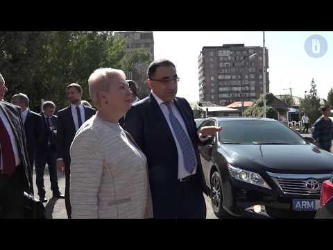 Визит министров образования и науки Армении и России в РАУ