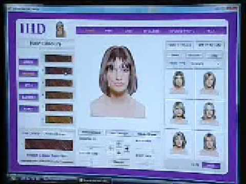 hair style software interactive hair design software 600 professional hair 9086