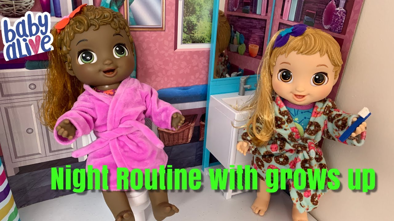Baby Alive Baby Grows Up Night Routine