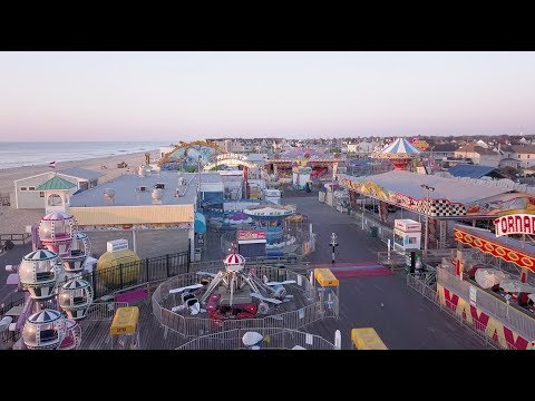 Jenkinson's Boardwalk / Point Pleasant NJ / Aerial Video
