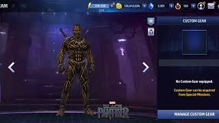 Building killmonger (Black Panther) - Marvel Future Fight