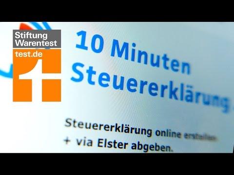 Test: Steuererklärung in 10 Minuten? – Was Online-Steuersoftware leistet