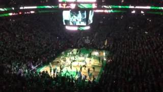 Celtics playoff intro vs Atlanta