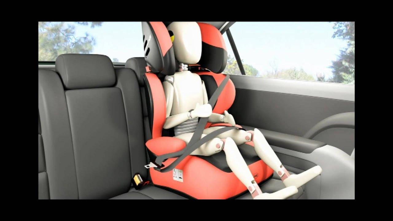 Jan silla de coche grupo 2 3 montecarlo en eurekakids for Asientos infantiles coche