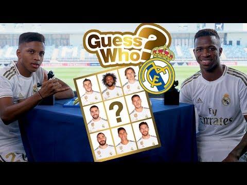 GUESS WHO? | Ep.2 | Rodrygo vs Vinicius Jr.