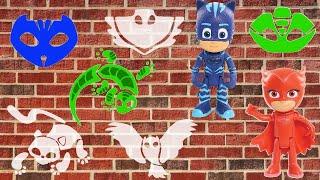 Пазлы для детей pj masks Герои в масках игрушки