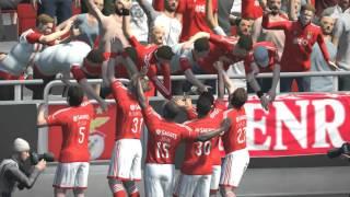 PES 2015: SL Benfica - FC Porto (PC 1080p 60fps ultra stadium pack tv)