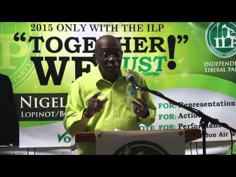 Jack Warner Speaks in Five Rivers