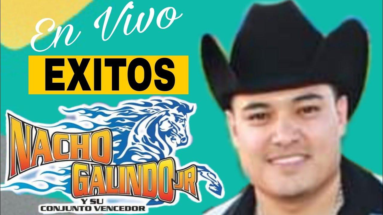 NACHO GALINDO JR Y SU CONJUNTO VENCEDOR  - BORRACHO Y LOCO en vivo