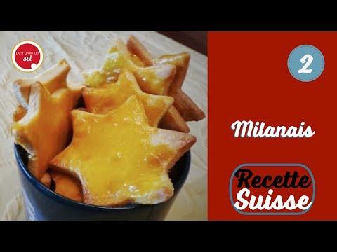 {Petit grain de Noël} - Recette suisse - 2. Milanais