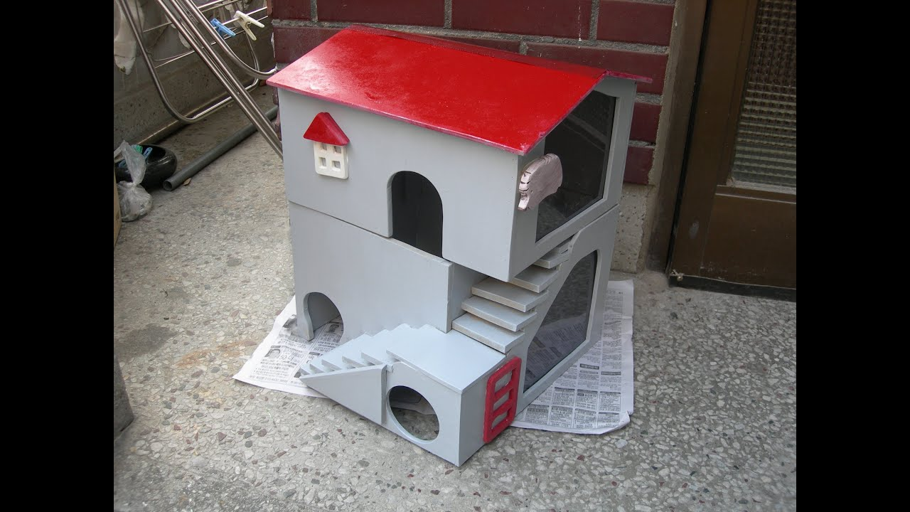 Homemade Hedgehog House Youtube