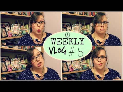 A WEEKLY VLOG #5   Musicals & Parties
