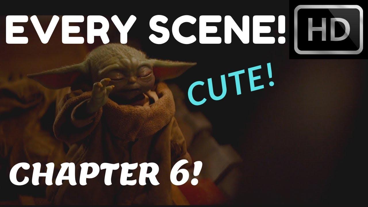 Every Baby Yoda Scene In Episode 6 1080p Full Hd The Mandalorian Youtube
