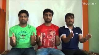 Virusmash  ವೈರಸ್ಮ್ಯಾಷ್  - Most hilarious funniest and craziest Kannada song dub performance