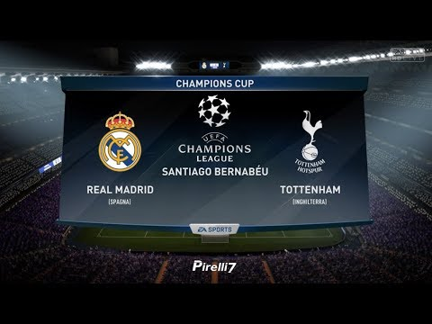 REAL MADRID VS TOTTENHAM |Champions League 17/18| 14/10/2017 FIFA 18 Predicts by Pirelli7