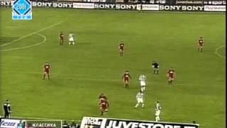 juventus 2-2 roma ll Full Match Partita completa ll 2001