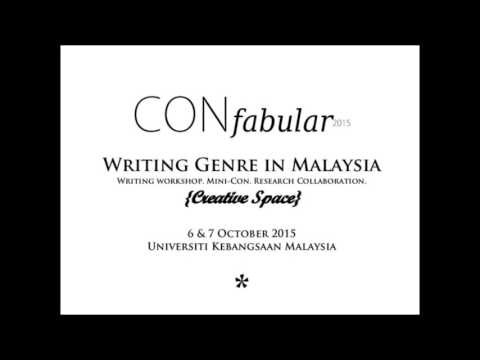 CONFABULAR2015 - The Challenges of Writing Genre Fiction in Malaysia Roundtable