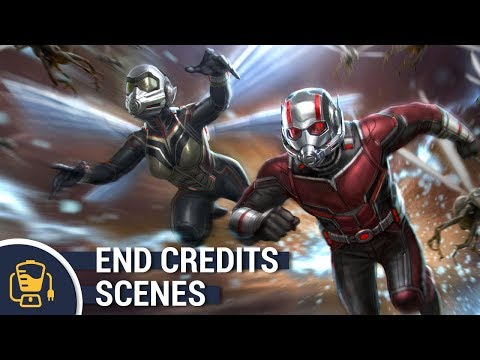 Ant-Man and the Wasp End Credits Scenes |...