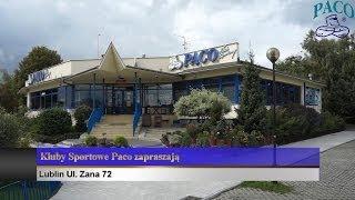 Klub Sportowy Paco przy ul. Zana 72 z lotu ptaka