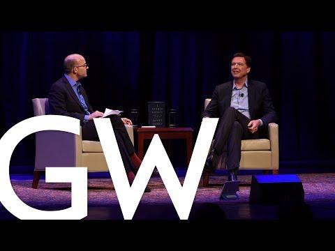 #LiveAtGW with Former FBI Director James Comey
