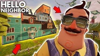 Rich Neighbor Buys A FANCY MANSION!!! | Hello Neighbor Gameplay (Mods)