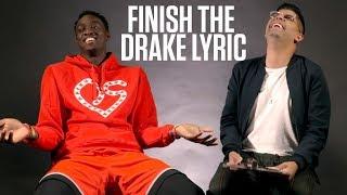 We Challenged The Raptors To Finish Drake Lyrics