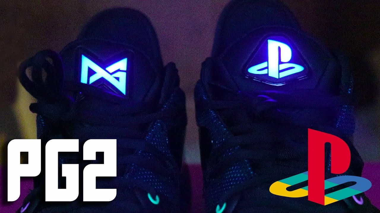 e21e54fc3786 PG2 PLAYSTATION SHOES UNBOXING! The Coolest Video Game Shoes Of All ...