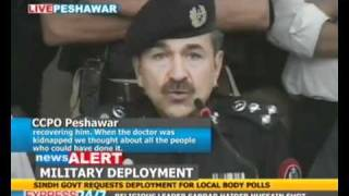 Dr Intikhab Alam recovered after shoot out