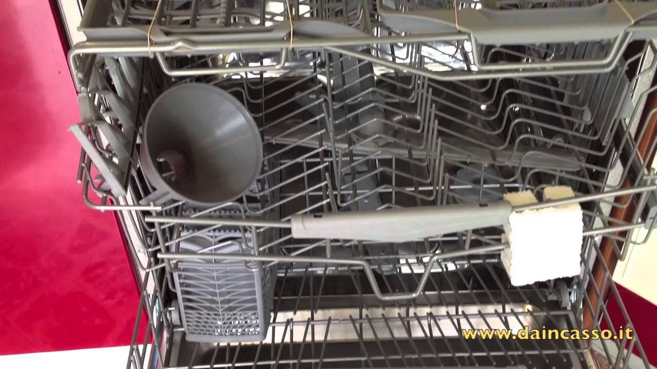 lavastoviglie da incasso - YouTube