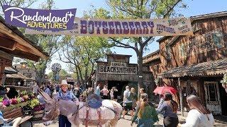 Knott's Berry Farm Boysenberry Festival is here! Theme Park and Berry unite!