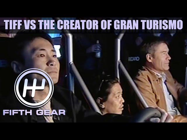 Tiff takes on the creator of Gran Turismo at his own game! | Fifth Gear