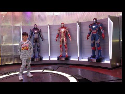MARVEL STUDIO DUBAI 2019, IMG WORLD AVENGER STUDIO DUBAI to meet Ironman, spiderman,captain america