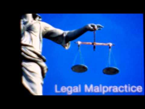 Legal Malpractice = Jail