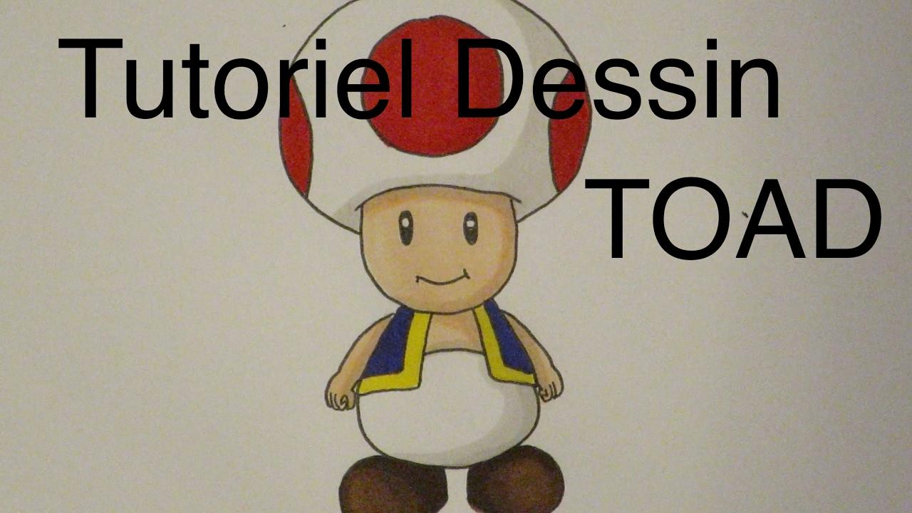 Drawing Tutorial Toad Mario