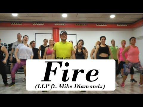 Fire - LLP feat Mike Diamondz | Zumba® with JC Rios | X-TREME DANCE