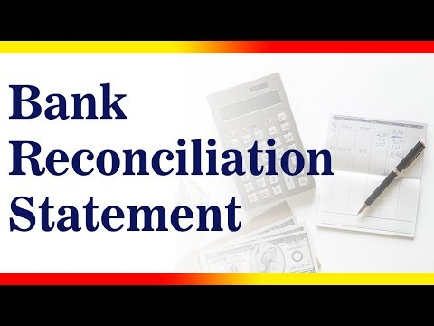 BANK RECONCILIATION STATEMENT   BRS   Accounting   LetsTute Accountancy