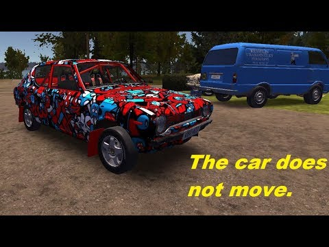 My Summer Car | The car does not move  What is the problem ?