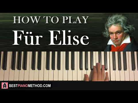 "HOW TO PLAY - ""Für Elise"" by Beethoven (Piano Tutorial Lesson)"