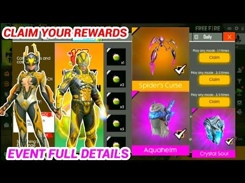 CLAIM YOUR ALL REWARDS NEW GAME MOD FREE FIRE