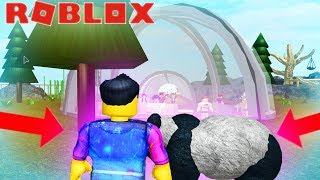 SNEAKING INTO THE PANDA ENCLOSURE AT ROBLOX SANCTUARY!! - Children Friendly Gaming Channel Roblox