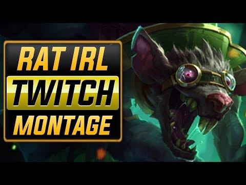 "RAT IRL ""Twitch Main"" Montage (Best Twitch Plays) | League Of Legends"