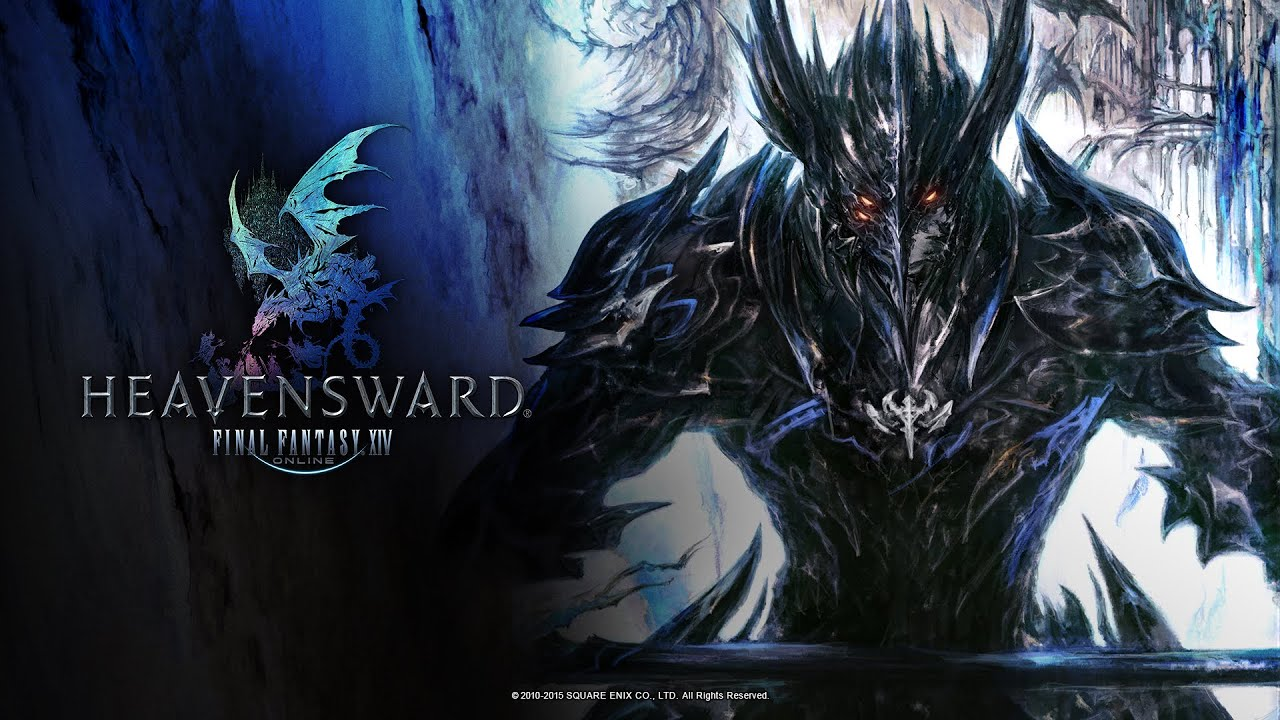 Final Fantasy XIV Heavensward Gameplay PS4 Full HD 1080p