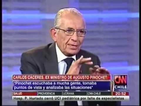 Canal CNN Chile: Entrevista A Carlos Cáceres, Ex Ministro De Augusto Pinochet.