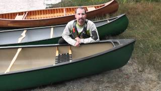 Canoe Materials - Overview of the different types of construction used in canoes