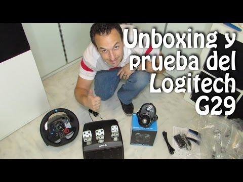 unboxing logitech g29 driving force racing wheel shifter. Black Bedroom Furniture Sets. Home Design Ideas