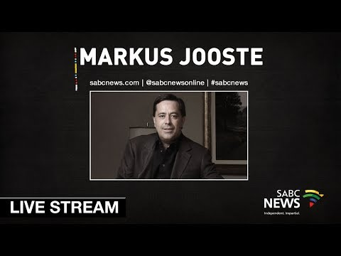 Former Steinhoff CEO, Markus Jooste appears before SCOPA