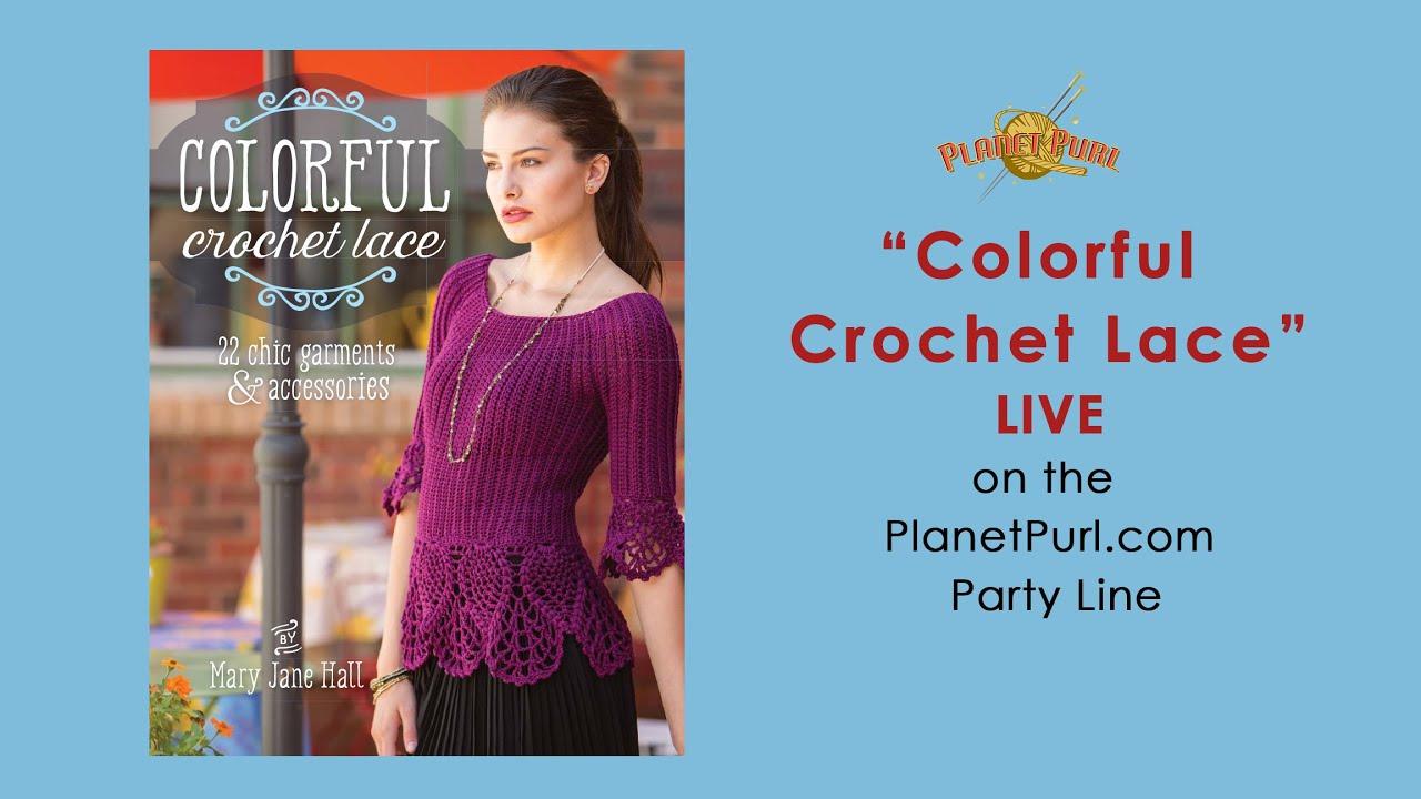 Colorful Crochet Lace\