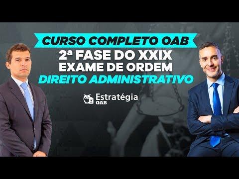 Видео Cursos oab
